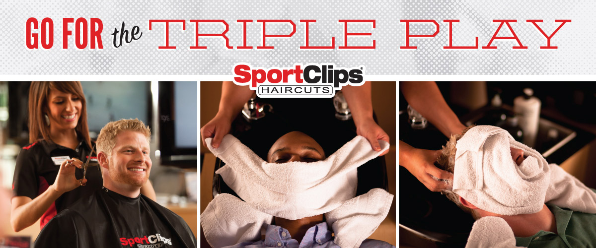 The Sport Clips Haircuts of New Bern Marketplace Triple Play